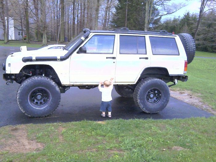 Jeep Cherokee Ideas My Hombrewed Snorkal Made Of Pvc Just Dont