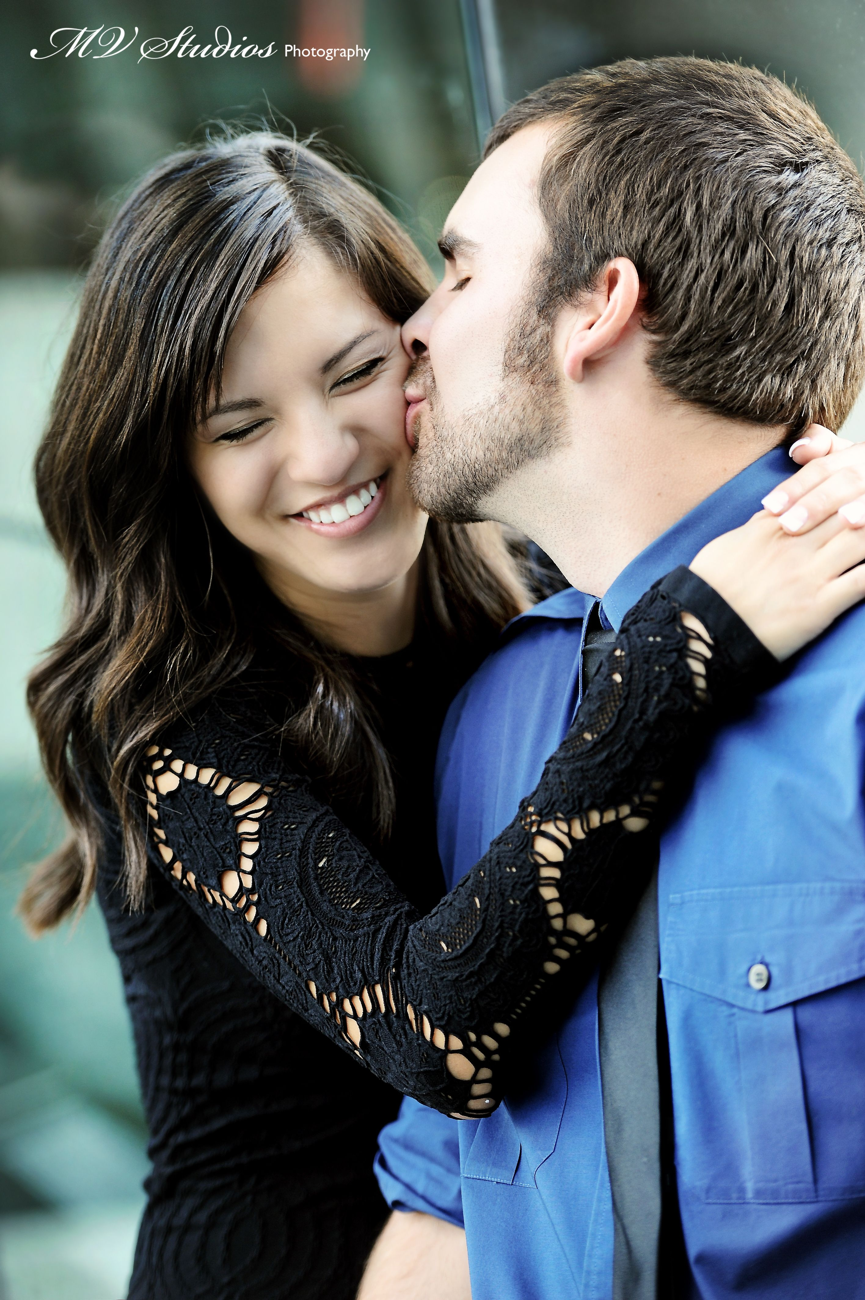 Such an adorable couple | Engagements | Weddings | MV Studios Photography