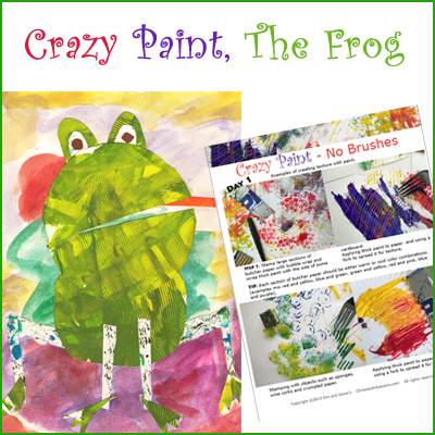 Crazy Paint – The Frog
