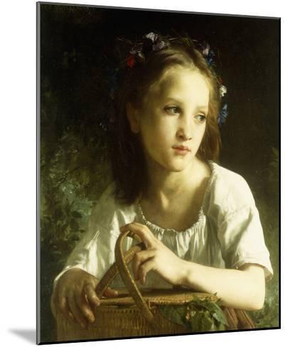Petite Bergere Giclee Print - William Adolphe Bouguereau