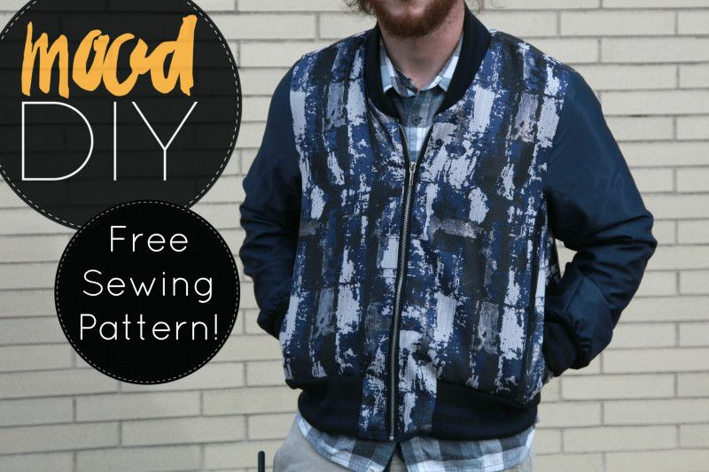 Mood DIY: Free Reversible Bomber Jacket Sewing Pattern | Pinterest ...