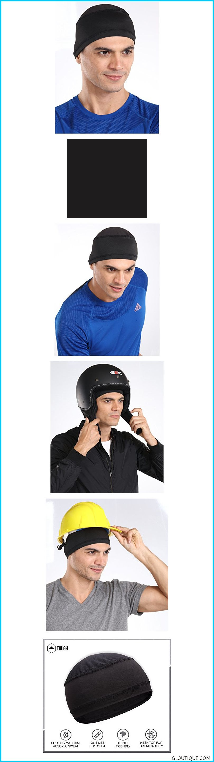 Sweat Wicking Helmet Linercooling Skull Cap For Men Helmet Amp