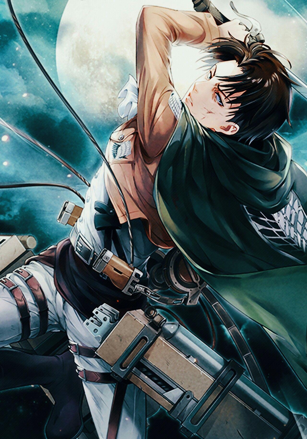 Levi Ackerman Attack On Titan Gambar Karakter Ilustrasi Komik Gambar Manga