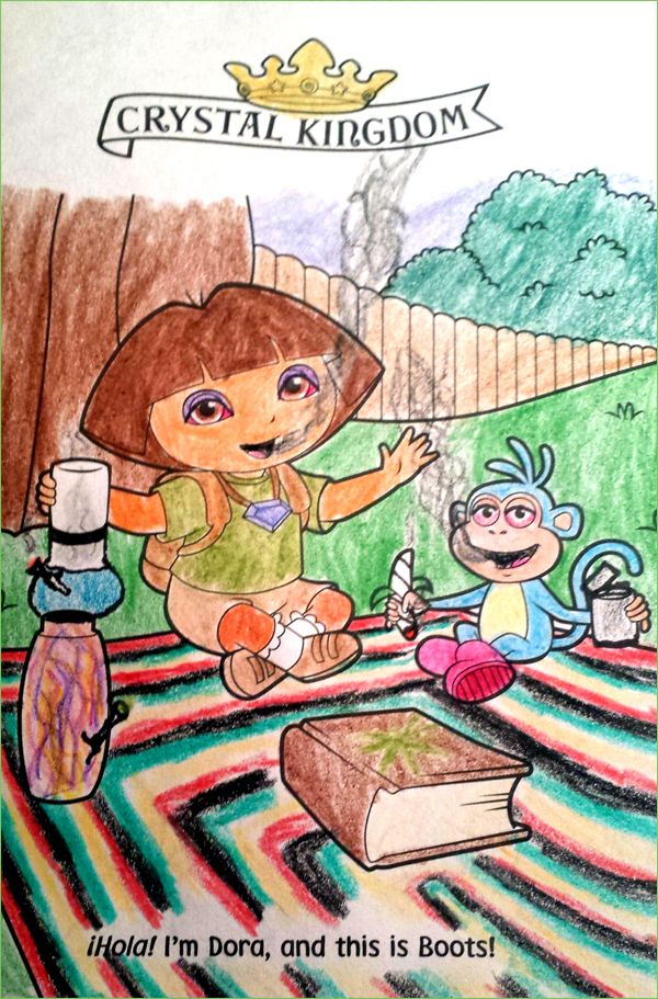 Guest Post Dora Explores Coloring Books Corrupt Coloring Book Dora