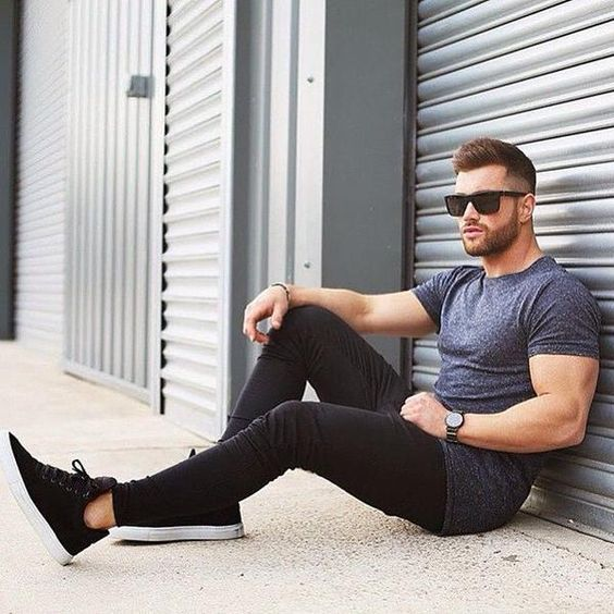 14 Odd Ways To Rock Your Style With Just Plain Tshirts Men Outfits