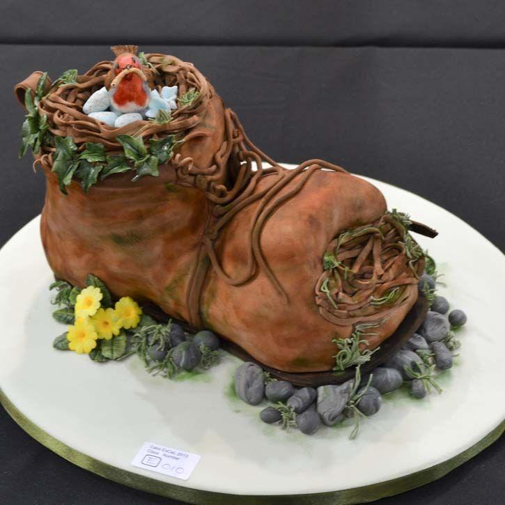 Cake International Sculpted Novelty Cake-14