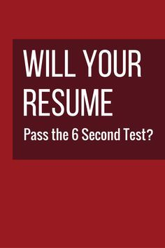 Hr Pros Scan Resumes In  Seconds Before Deciding To Keep Or Trash