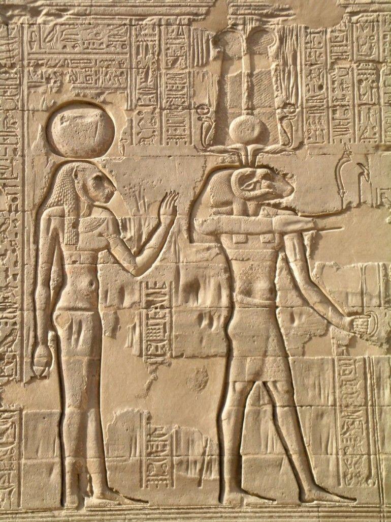 Relieves Egipto tallados