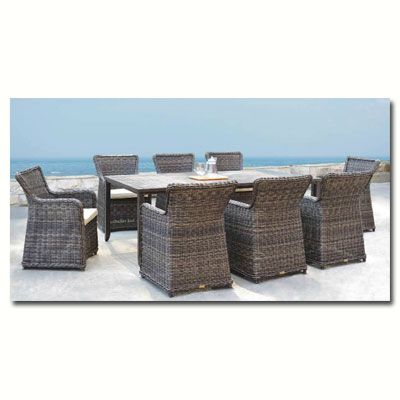 Sunnyland Patio Furniture - Greenville 9 piece collection by Patio ...