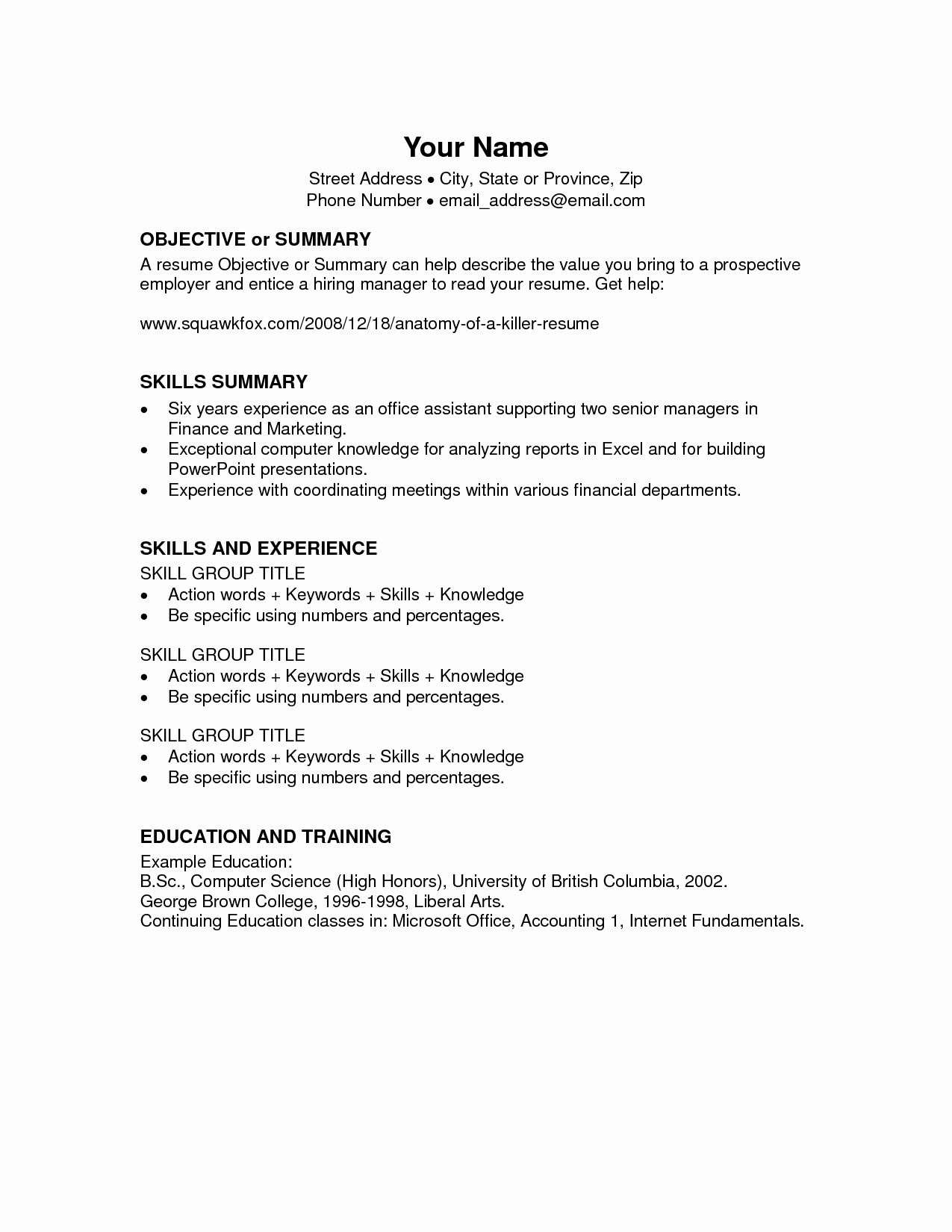 Microsoft Office Word Resume Templates New Microsoft Fice