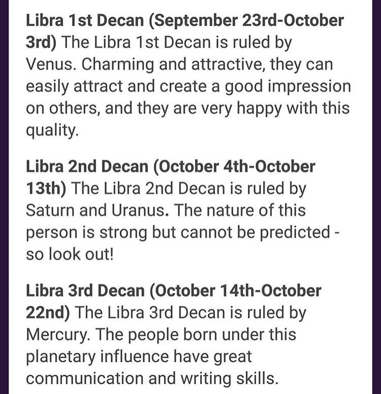 Libra, do you know your zodiac sign ?