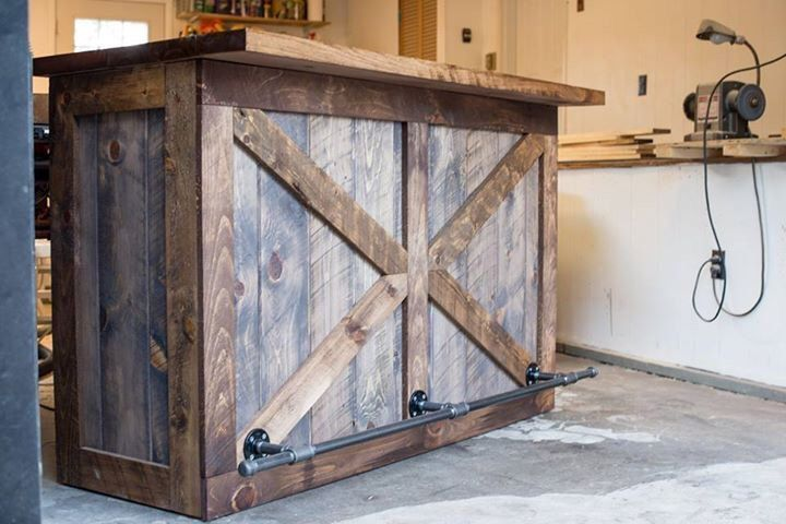 Rustic Bar Wine Liquor Cabinet Dry Storage By