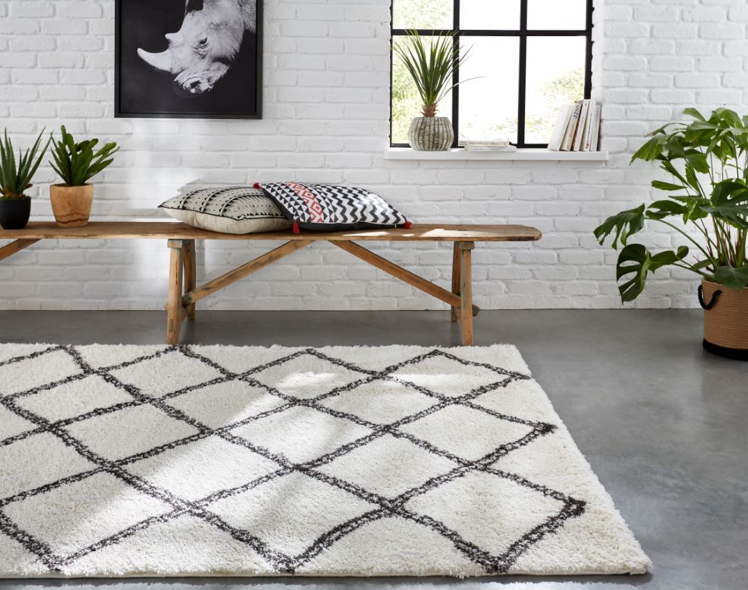 tapis tribal tapis losange