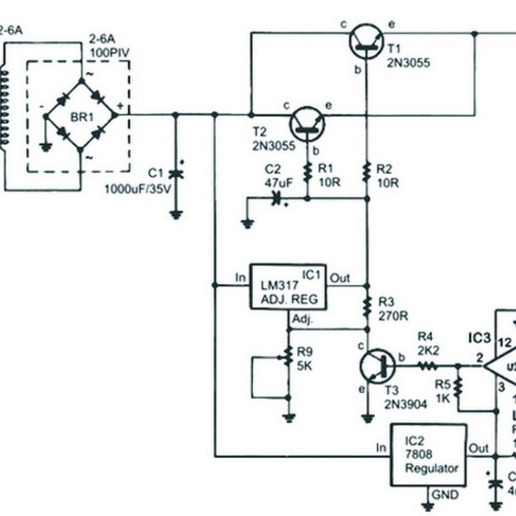 universal battery charger schematic
