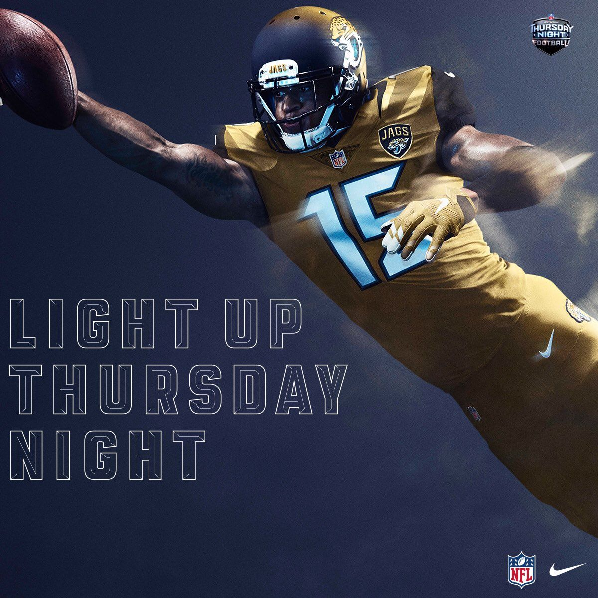 Power Ranking all 32 NFL Color Rush Uniforms 12. Jacksonville Jaguars 665beacb2