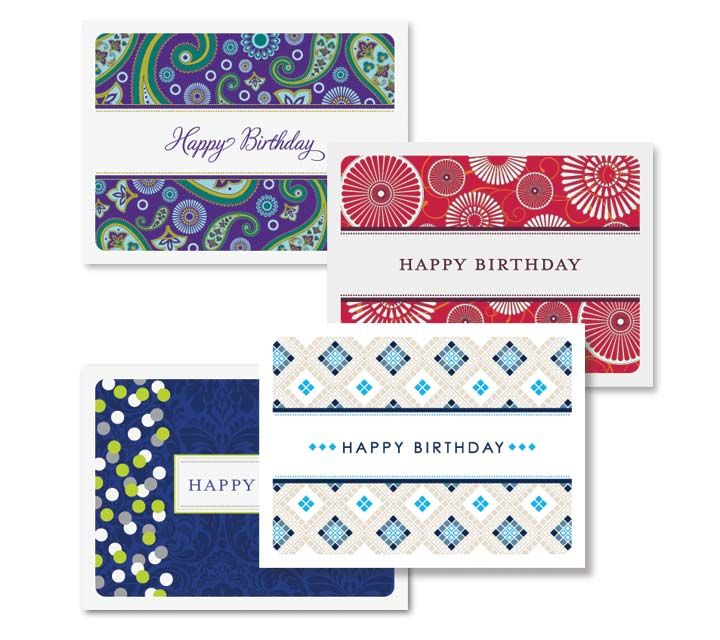 Executive College Stationery Note Cards: Corporate Birthday Cards :: Stationery :: Jennb.design
