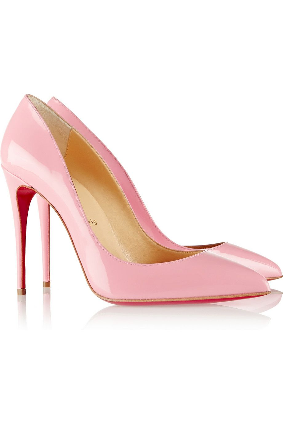 half off c21c8 89401 Christian Louboutin | Pigalle Follies 100 patent-leather ...