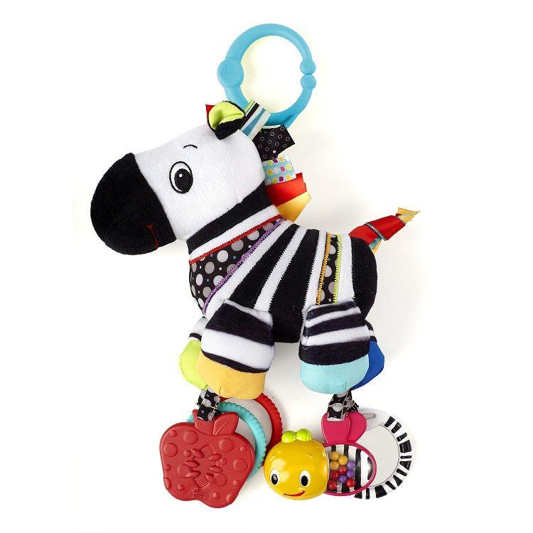 Bright Starts Zawieszka Do Woz Sensor Zebra Gryzak 6696773199 Oficjalne Archiwum Allegro Bright Starts Bright Starts Toys Baby Toys