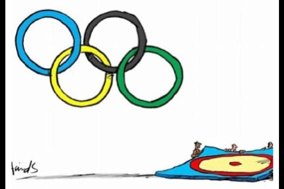 Good creative work, and again it sums up the point. This sport has been in the Olympics since the very first games in 1896, and was also one of the few games that was taken from the original games in Greece. Save Olympic Wrestling! #saveolympicwrestling
