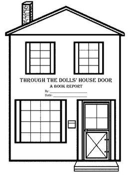 Through The Dolls' House Door Book Report Graphic