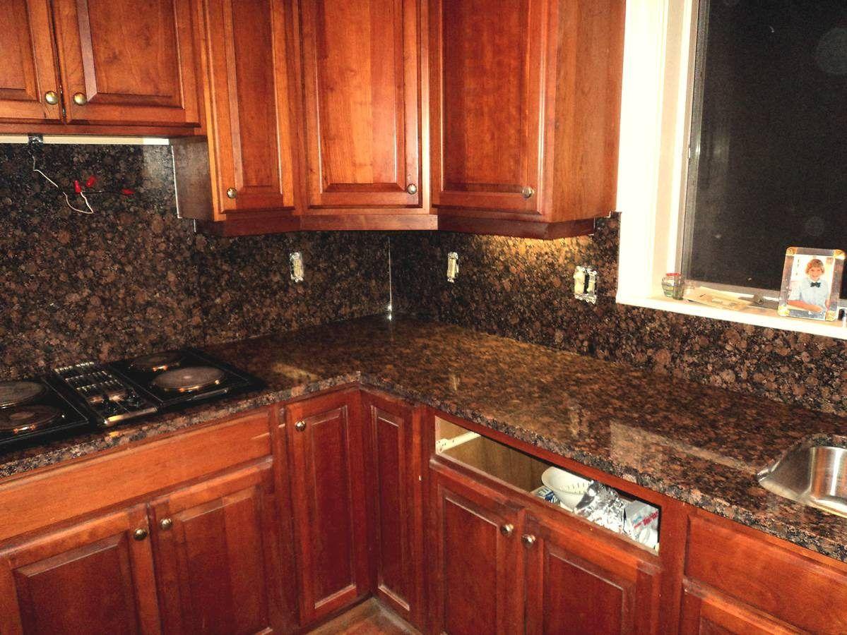 Contemporary Tan Brown Granite Countertops Kitchen Countertop Design Granite Countertops Brown Granite Countertops