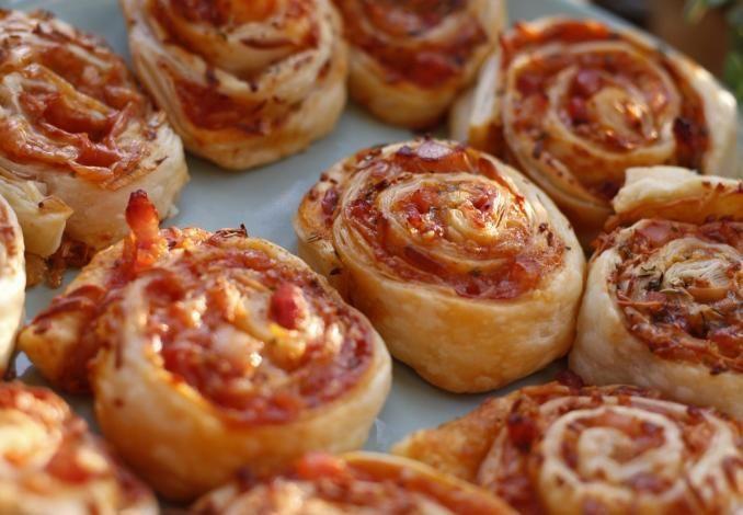 Pizzaschnecken Vorbereiten