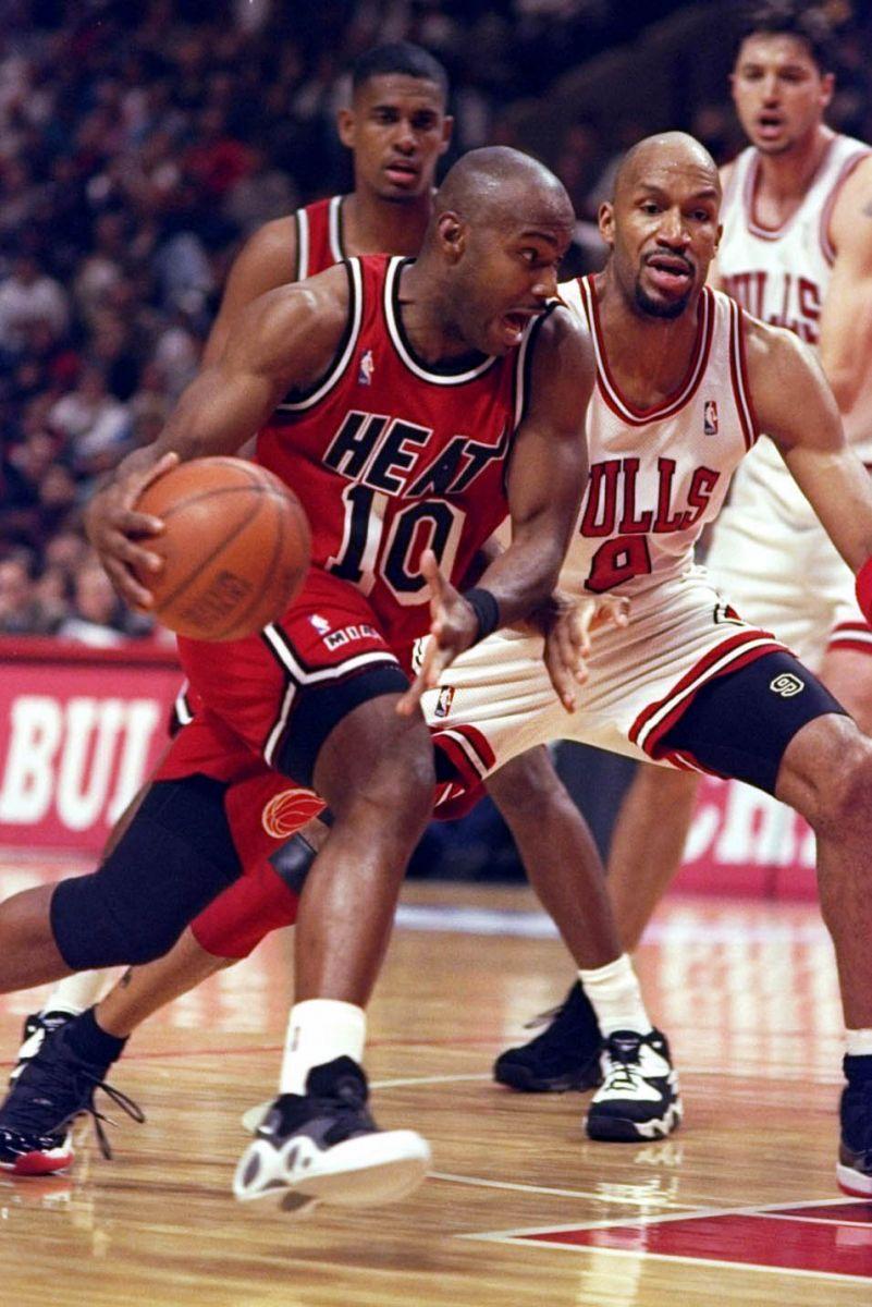 low priced fb0a4 9b908 Tim Hardaway - Miami Heat, 1996-2001   FL   Fsu basketball ...