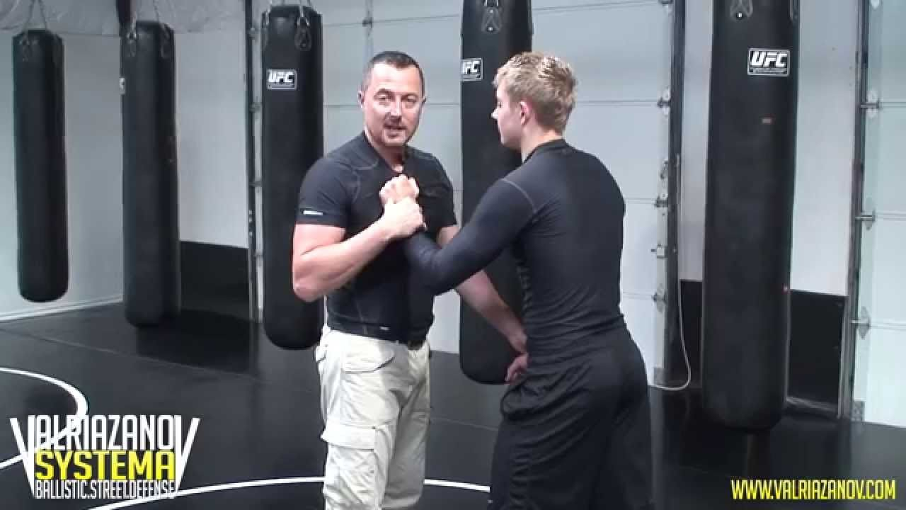 Grabbing, how to defend yourself against an attack How