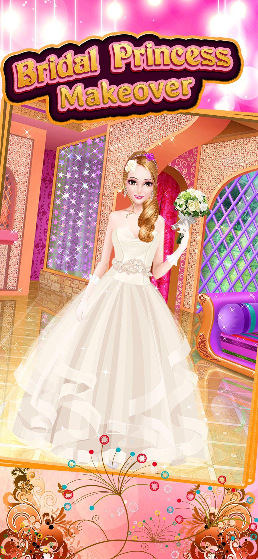 bridal princess wedding salon #salon#free#educational#games