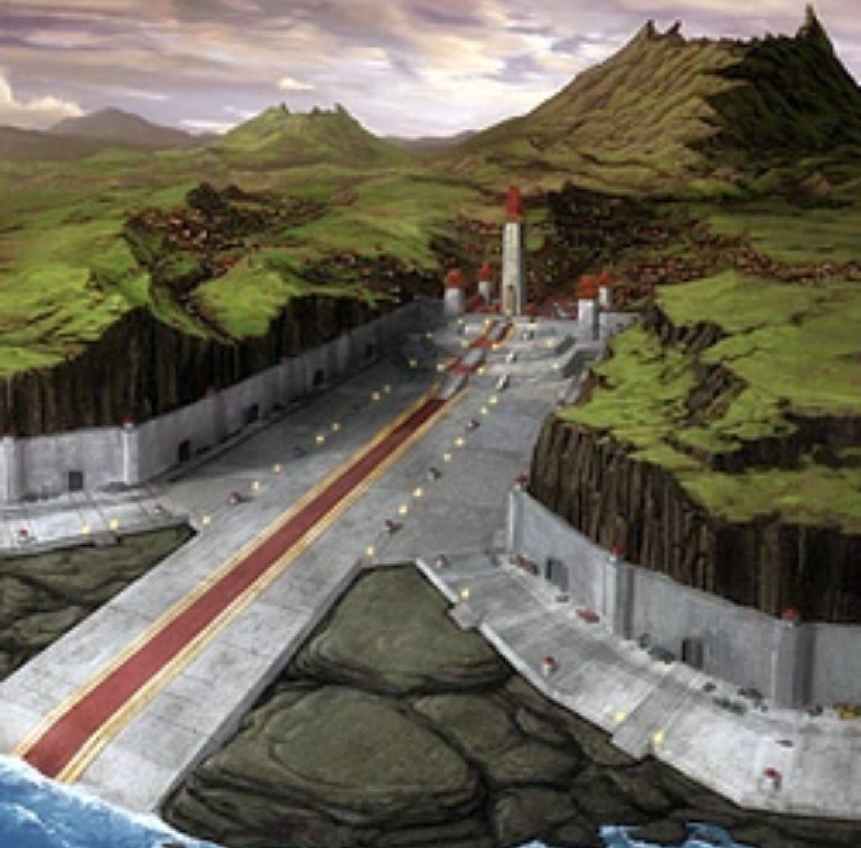 Fire nation capital harbor city avatar locations harbor