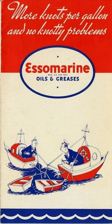 Essomarine Advertisement by Dr. Seuss