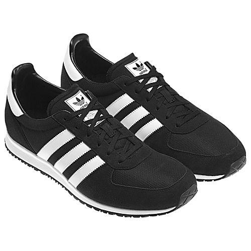 premium selection a84e2 cc440 adidas adistar racer v22769 black