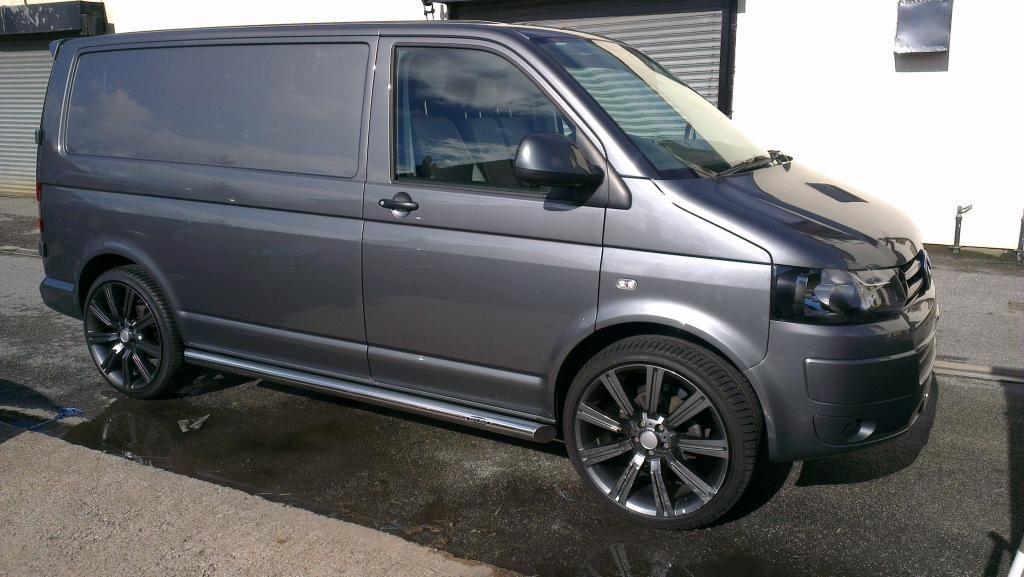 metallic grey T5 Vw transporter van, Vw van, Volkswagen