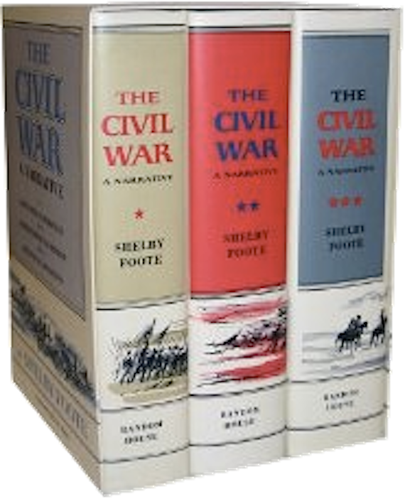 The Civil War A Narrative Shelby Foote 3 Vols Civil War Books Books Civil War