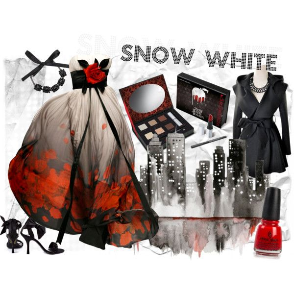 A very dressed-up Snow White - Snow White by ovaryaction on Polyvore