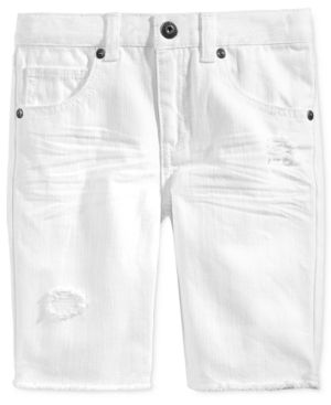 11cbc838b4ce Epic Threads Rip & Repair Denim Shorts, Toddler & Little Boys (2T-7), Only  at Macy's - White