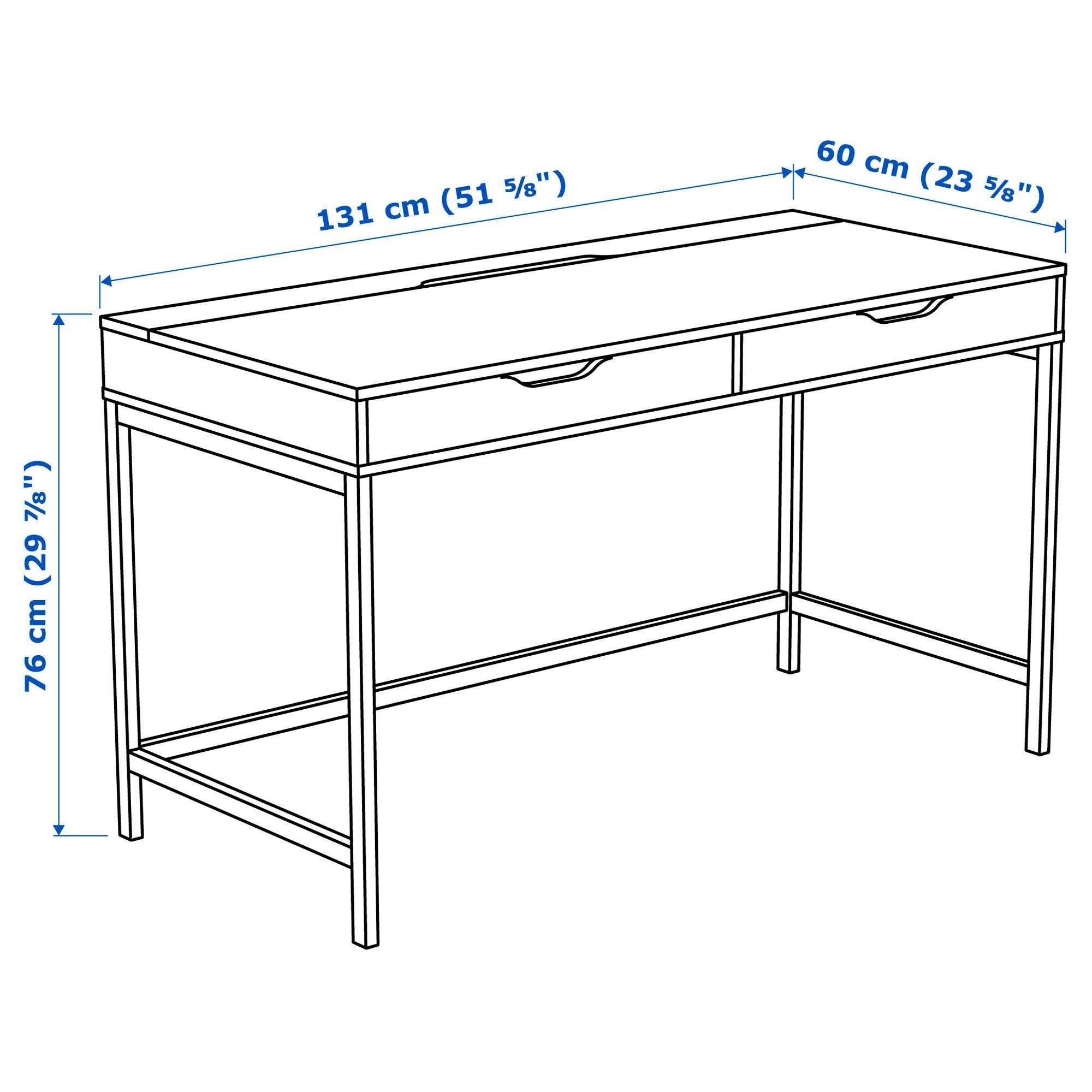 Alex Desk White 51 5 8x23 5 8 Ikea In 2020 Alex Desk Ikea Alex Desk White Desks
