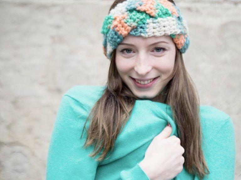 Diy Anleitung Geflochtenes Stirnband Mit Farbverlauf Häkeln Via