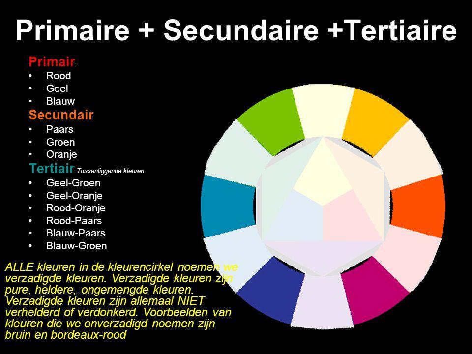 Primaire kleuren secundaire kleuren zuiver rood zuiver geel en zuiver blauw zijn de for Wat zijn de koele kleuren