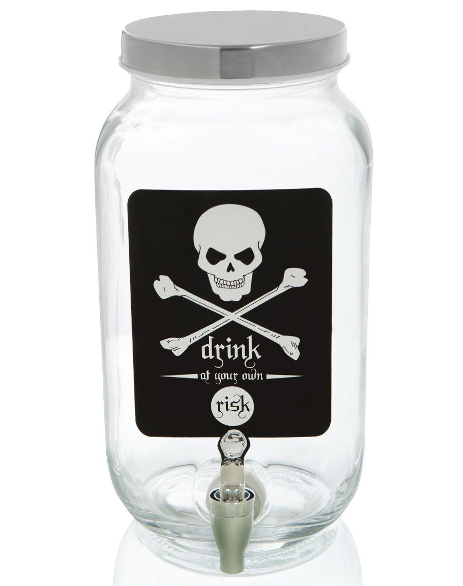 skull beverage dispenser exclusively at spirit halloween - dare to