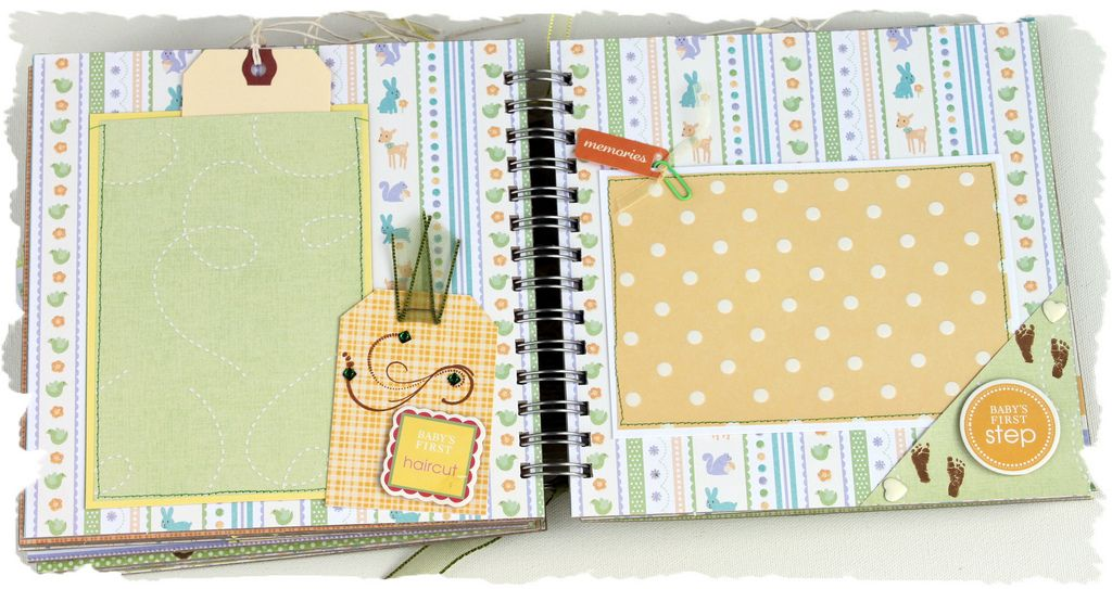creative baby boy scrapbook   ... Scrapbooking and Paper Crafting...: Babys First 8 x 8 Baby Boy or