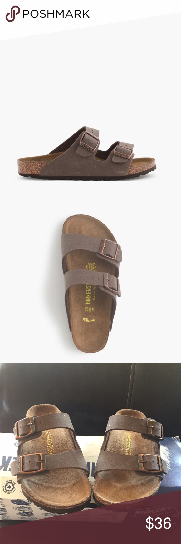 Kids Birkenstock size 10c Unisex Arizona sandal, Birkenstock brand new never used . Size 10c /28 Birkenstock Shoes Sandals & Flip Flops