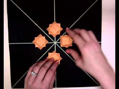 Radial Symmetry with Origami