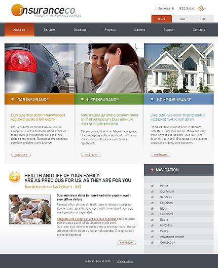 Insurance company drupal templates by svelte car insurance website insurance company drupal templates by svelte maxwellsz
