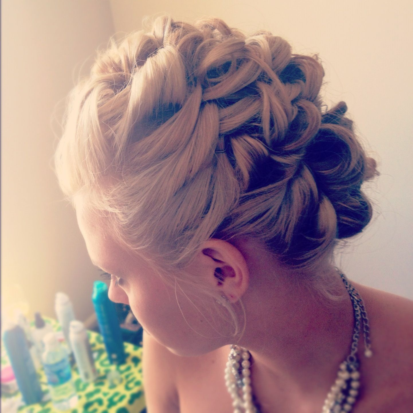 hair by josie at sine qua non west town #bridal #updo#hair