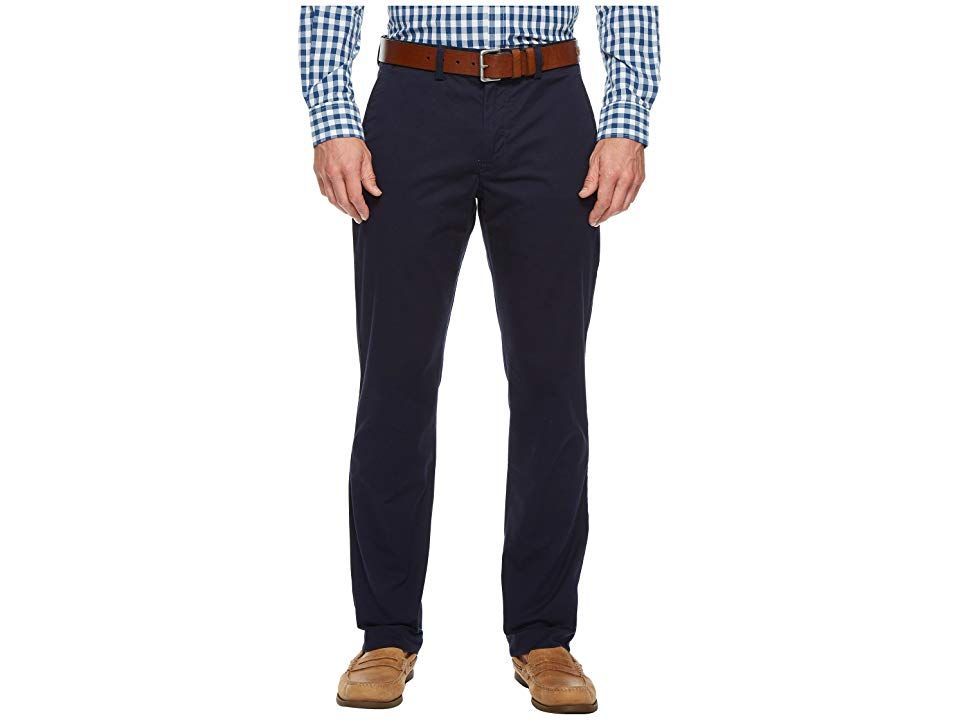 198ba79716881 Polo Ralph Lauren Straight Fit Bedford Stretch Chino Pants (Nautical Ink)  Men s Clothing.