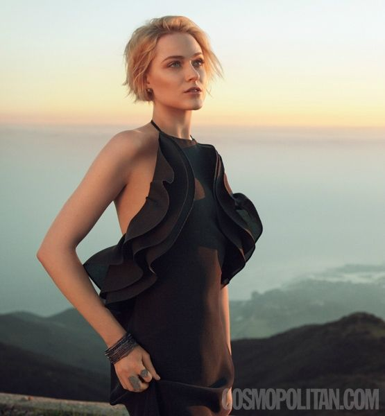 Cosmopolitans Evan Rachel Wood photo shoot