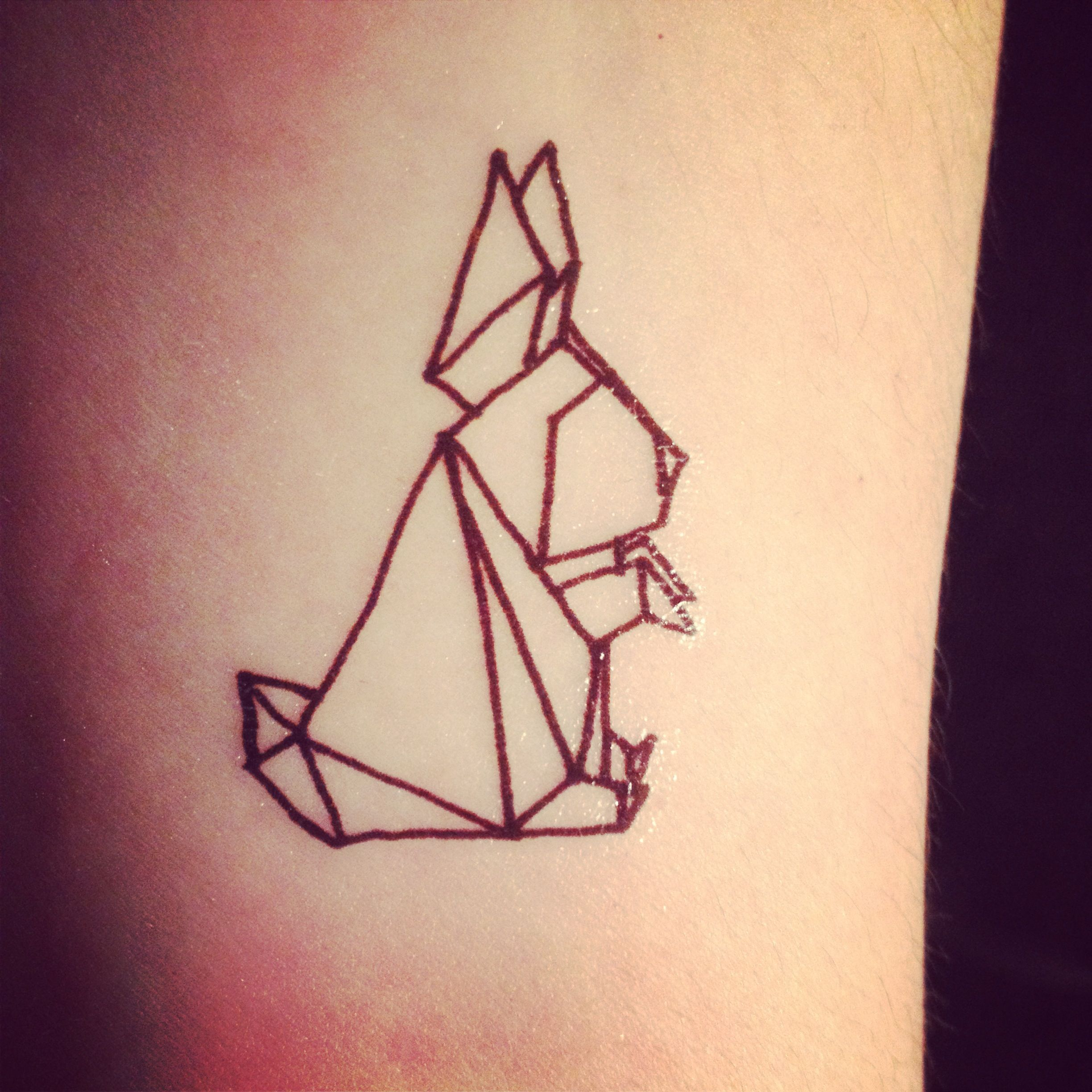 Origami Tattoo Tattoos Tumblr