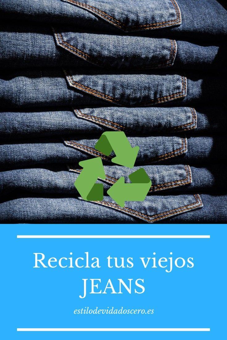 36 ideas para reciclar jeans o ropa vaquera