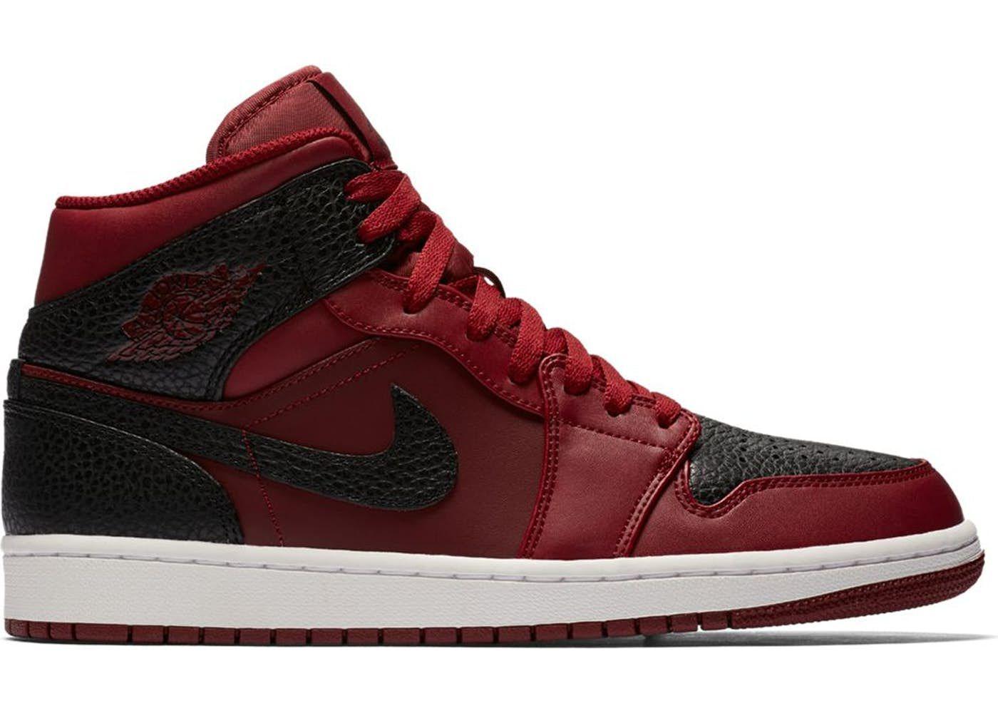 d766e5be9bb3 Jordan 1 Retro Mid Team Red Black